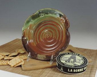 BRIE BAKER Brown/Green Glaze