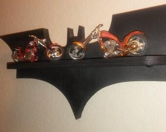 wooden shelf Batman