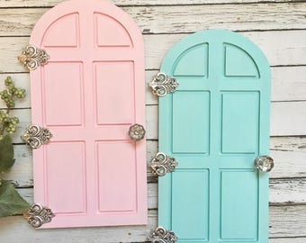 Elf Door, Fairy Door , Christmas Door, Tooth Fairy Door, Fairy Garden Door, Miniature Door, Elf Accessories, Christmas elf door