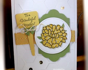 Stampin' Up Happy Mother's Day Card