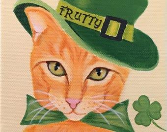 Folk Art Pet Portrait ~ Custom