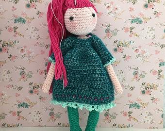 Crochet Doll Pattern / Amigurumi Doll Pattern / NL ONLY / MILLIE / Pdf Crochet Doll Pattern / Instant Download