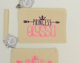 Adorable Personalized Wristlets!  Girl's Night Out, Little Girl Gifts, Baseball Moms!  Princess