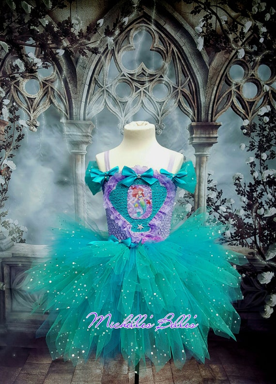 Arial The Little Mermaid Tutu Dress