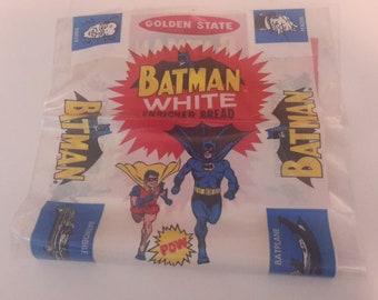 batman golden state white bread wrapper 1966 mint unused