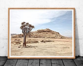 Desert Landscape, Desert Photography, Wall Art Print, Modern Art, Digital Download, Desert Wall Art, Modern Minimalist, Desert Poster