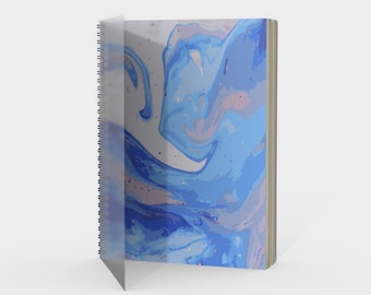 Blueberry Syrup Spiral Notebook