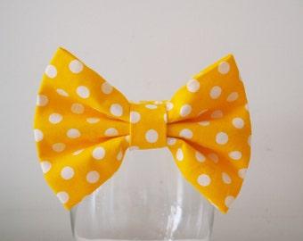 Sunny Yellow Bowtie