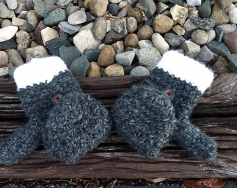 Crocheted Convertible Mittens