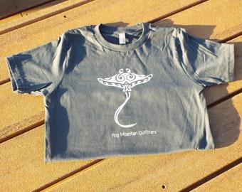 Kids's Tribal Stingray Shirt
