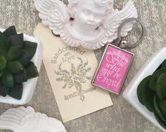 She Who Must Be Obeyed Keyring, Powerful Women Keyring, Girly Keyring, Strong Women Keyring, Fun Keyring, Girlfirend Keyring, Boss Keyring