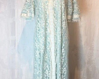 74. SAKS FIFTH AVENUE- Lace Nightgown