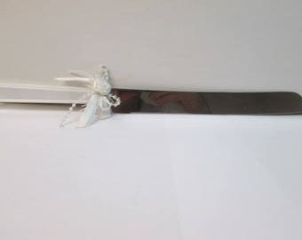 Wedding Cake knife plastic handle new