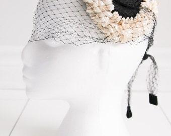 Ivory Flower Adorned, Black Capulet