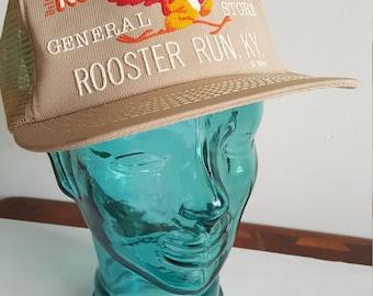 Rooster Run General Store Kentucky Snapback Trucker Cap