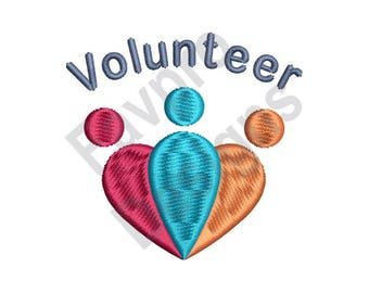 Volunteer - Machine Embroidery Design