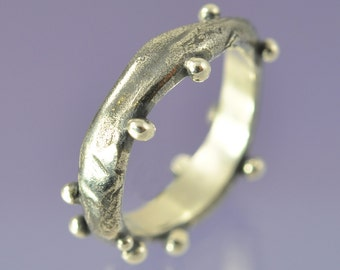 Bubbles Ring. Sterling Silver