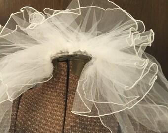 Vintage Wedding Bridal Veil