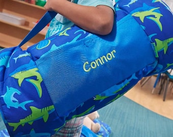 Personalized Toddler & Preschool Nap Mats - Sharks