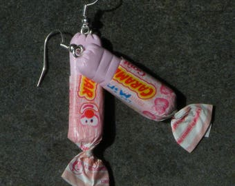 Candy caramel scent candy polymer clay earring