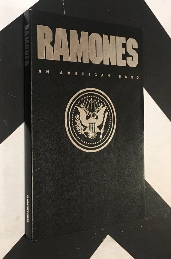 Ramones: An American Band by Jim Bessman vintage punk rock music biography (Softcover, 1993)