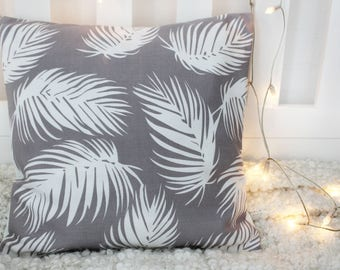 Palm print Cushion cover