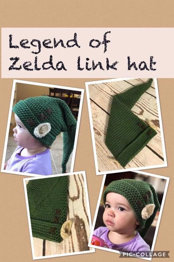 Crochet Legend of Zelda hat