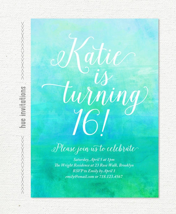 how to invite birthday party invitation email