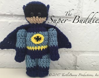 Batman '66 Superhero Inspired Nerd Crochet