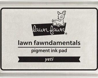 Lawn Fawn - Lawn Fawndamentals - Yeti (White) Pigment Ink Pad