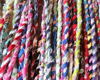 Fabric Twine Handspun - 10 Feet or Order As Much As You Need!