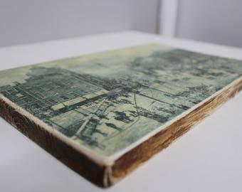 Wooden Block-mounted Irish Art