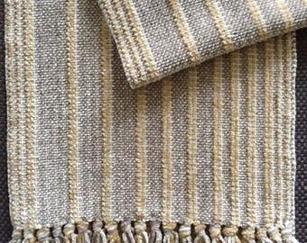 chenille scarf handwoven
