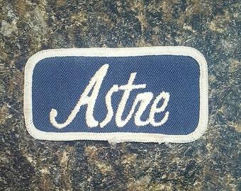 "3.5"" x 1.75"" Vintage Pontiac Astre Patch"