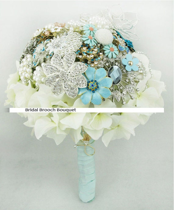 wedding bouquets with bling items similar to 9 inch bridal flower wedding jewelry 8537