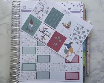 Gnome Garden Full and Half Box Stickers