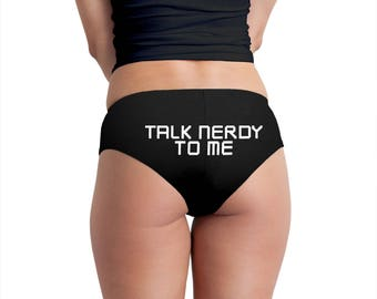 Talk Nerdy To Me Women's Boyshort Underwear