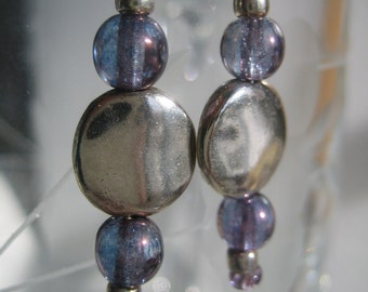 Amethyst Luster Earrings