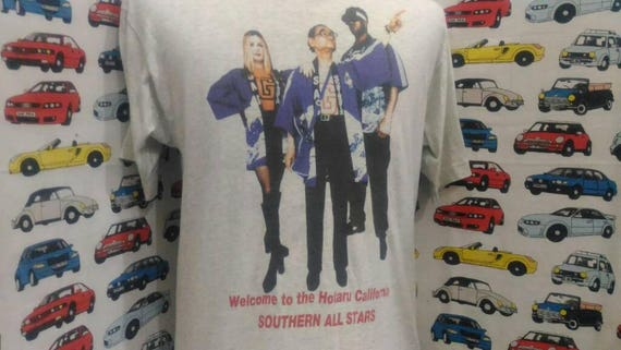In Welcome size consert USA tour Vintage Made Southern t white To California shirt All 90's colour L The Hotaru Stars 5nwxqUa1