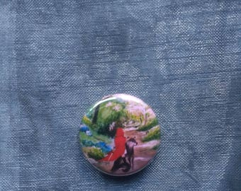 Disenchanted button badge