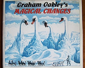 Graham Oakley's Magical Changes - Children's Book - Interactive - Book Without Words