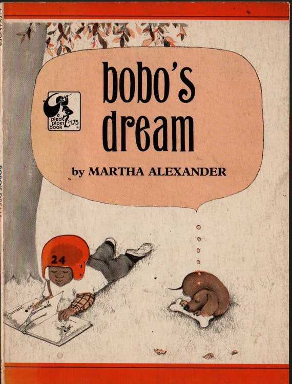 Bobo's Dream + Martha Alexander + 1970 + Vintage Kids Book