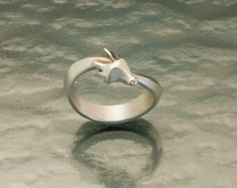 dragon band , silver