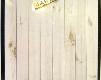 White Wash ..Magnet Dry Erase  Memo Board / Housewarming Gift / Office Decor / Organization / Desk / Coworker / Message Board / Wall Decor