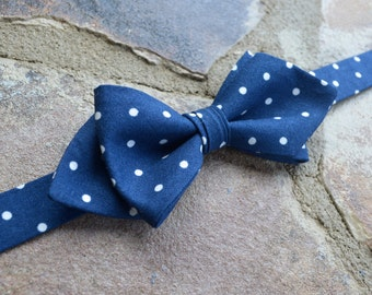 blue bow tie,red diamond style bow tie for kids, blue and ivory bow tie,gifts for boys,custom sewing