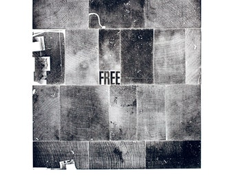 Free A3 poster-print in black