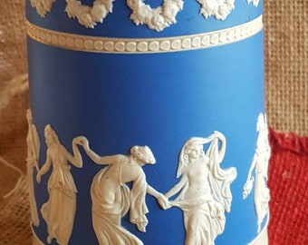 "Gorgeous Antique Jasperware ""Copeland Spode"" Pitcher! Made in England!"