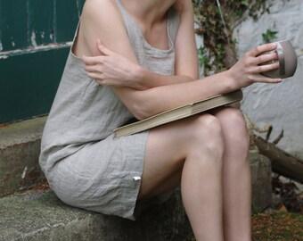 linen dress MINIMALISM