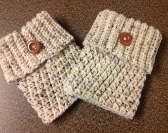 Women's Boot Cuffs / Crochet Boot Cuffs / Boot Toppers
