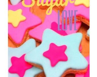 12 Star Sugar Shortbread Cookies